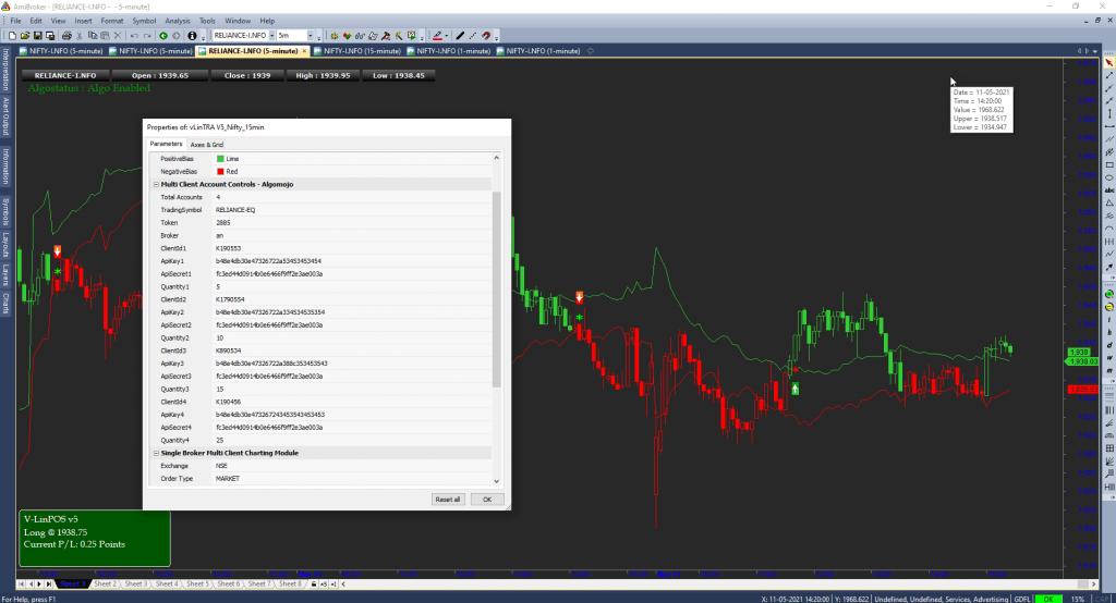 Angel Broking Multi-Client Amibroker Trading Module