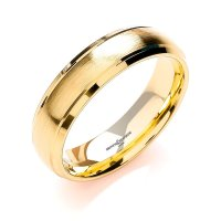 Brown and Newirth Mens 9ct Yellow Gold Wedding Ring
