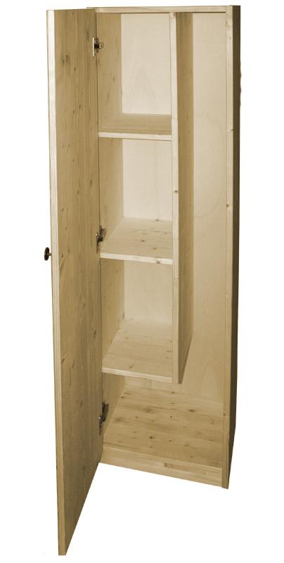 Market del Legno Porta scope in legno cm405x36 H 155