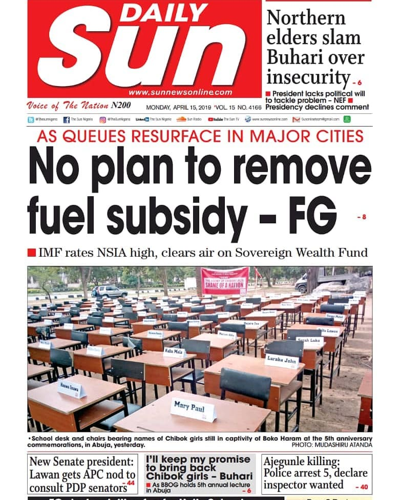 No imminent plan to remove fuel subsidy