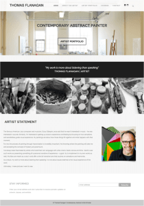 Artist Website | Website for Artist