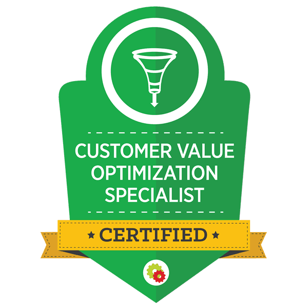 Digital Marketer Customer Value Optimization Specialist Certification