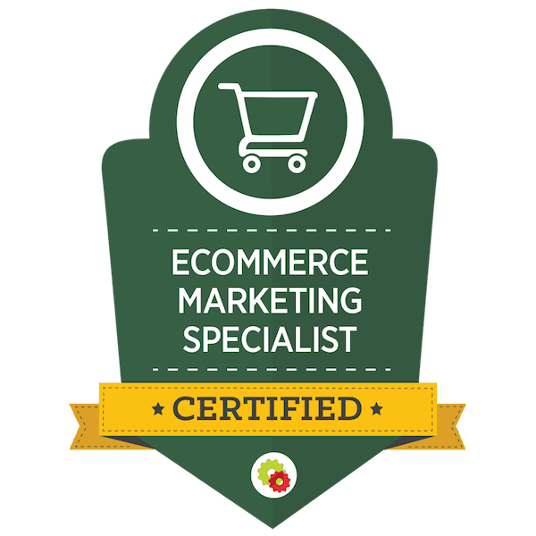 Digital Marketer Ecommerce Marketing Specialist Certification