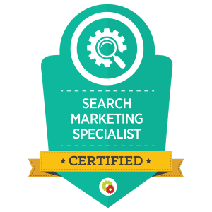 Digital Marketer Search Marketing Specialist Certification