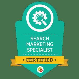 Digital Marketer Search Marketing Specialist Certification