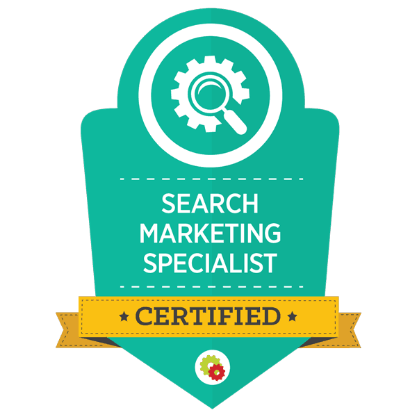 digital marketer search marketing specialist certified
