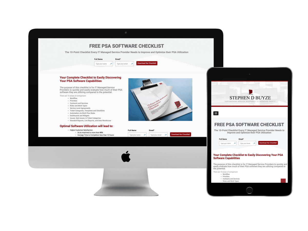 Lead Magnet Design and Landing Page