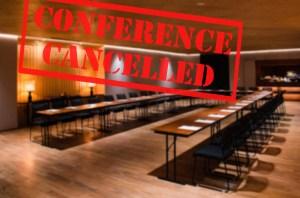Speaking event cancelled | Live speaking event alternatives