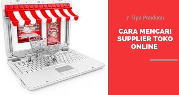Mencari Supplier Toko Online