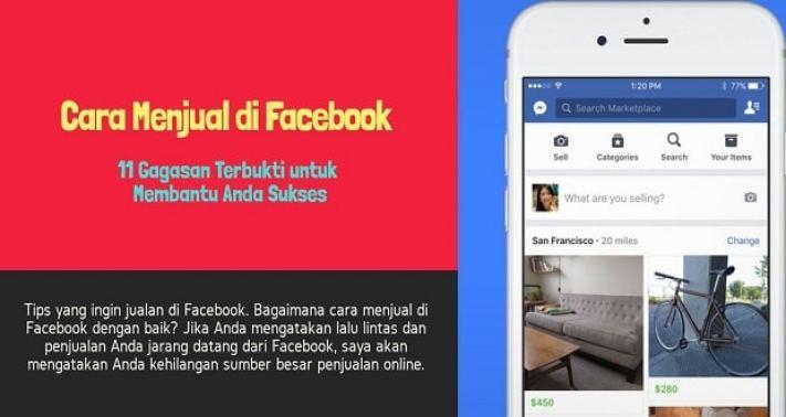 cara jualan di facebook