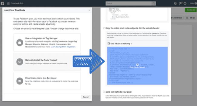 facebook pixel - kode