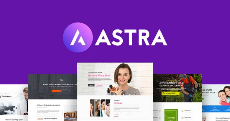 Astra Theme WordPress - Template