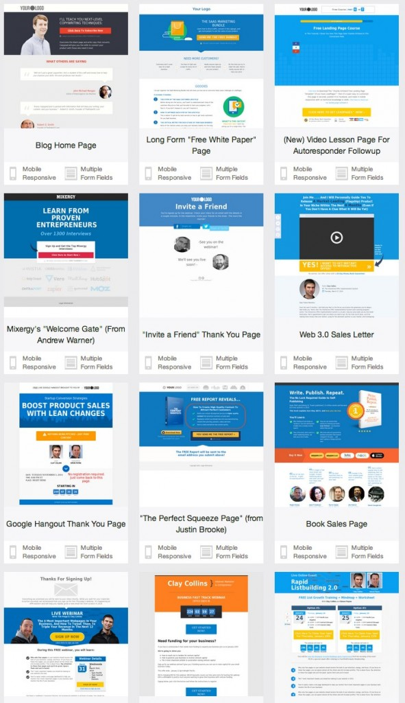 LeadPages - Available_Templates
