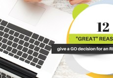 """12 """"Great"""" Reasons to Give a GO Decision for an RFP"""