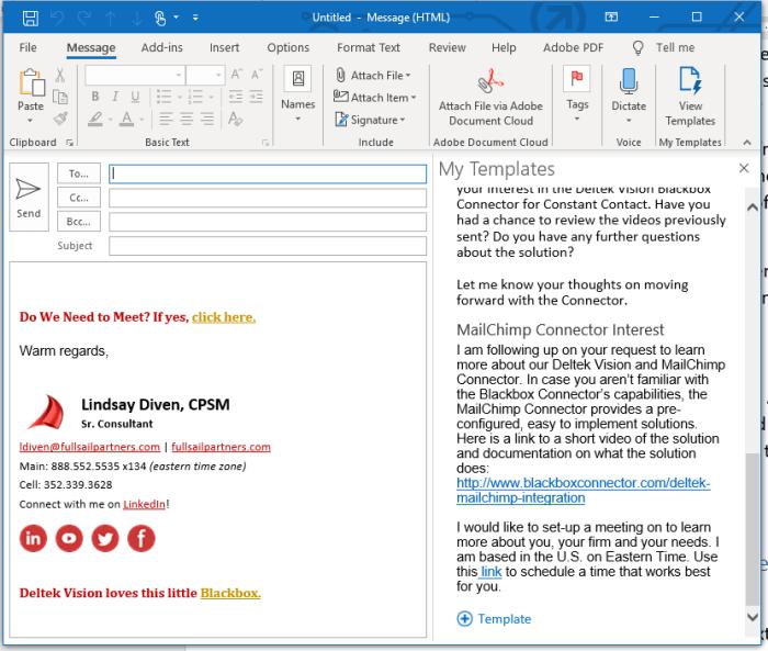 Unleash Creativity - Microsoft Outlook Templates