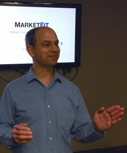 Alan Albert speaking on The Maximum Value Proposition at ProductTank Vancouver