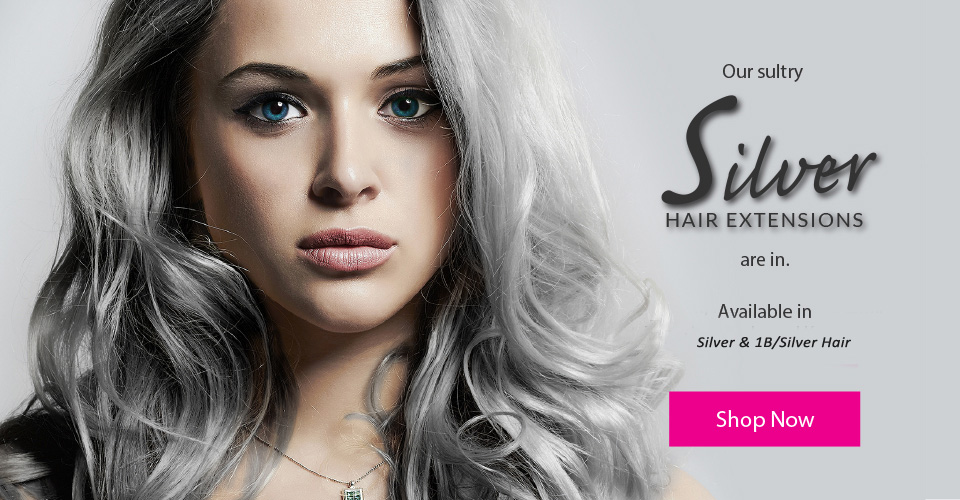 Gray Hair Extensions Sale At Market Hair Extensions