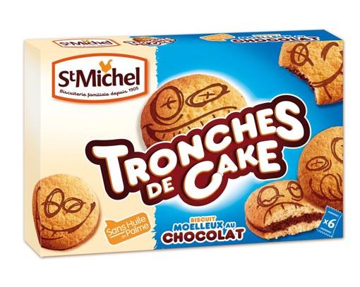Tronches de Cake St Michel