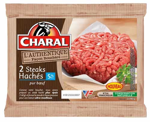 hache-5 Charal Authentique