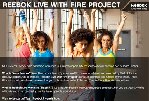 Reebok-Live-with-fire-project
