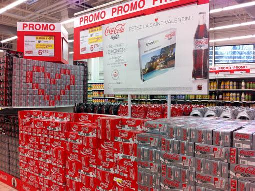 Promo-Coca-Cola Saint Valentin