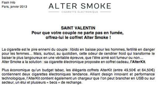 Saint-Valentin-Cigarette