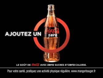 «Ajoutez un Zéro», la Nouvelle Campagne de Coca-Cola Zéro