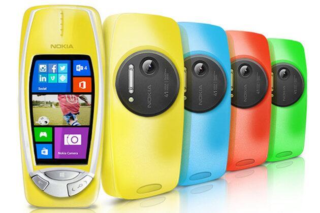 Nokia ressuscite le 3310 avec un portable tactile et une capteur photo de ... 41 millions de pixels