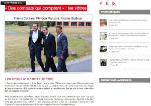Intermarché inaugure un nouveau canal de communication sur Internet : un blog.