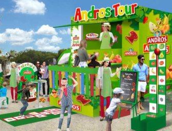 Andros lance son food-truck fruité pour les petits gourmands