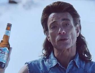 Jean-Claude Van Damme frappe à nouveau dans une publicité