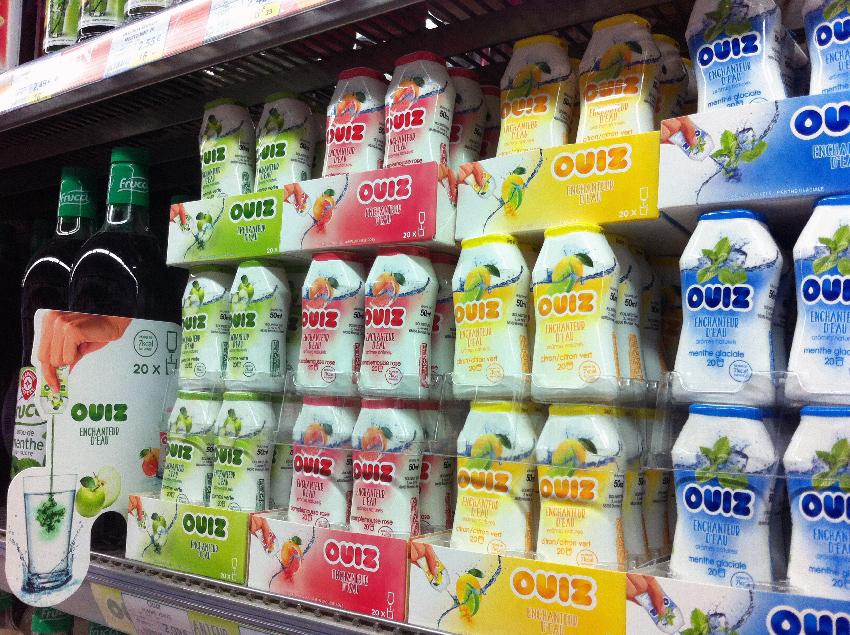 La gamme de 4 références de 50 ml est vendu autour de 3 €. Un prix exorbitant au litre qui s'explique en partie par la très forte concentration du produit.