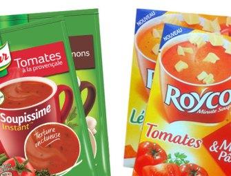 Déshydratée vs Concentrée : la battle du rayon Soupes