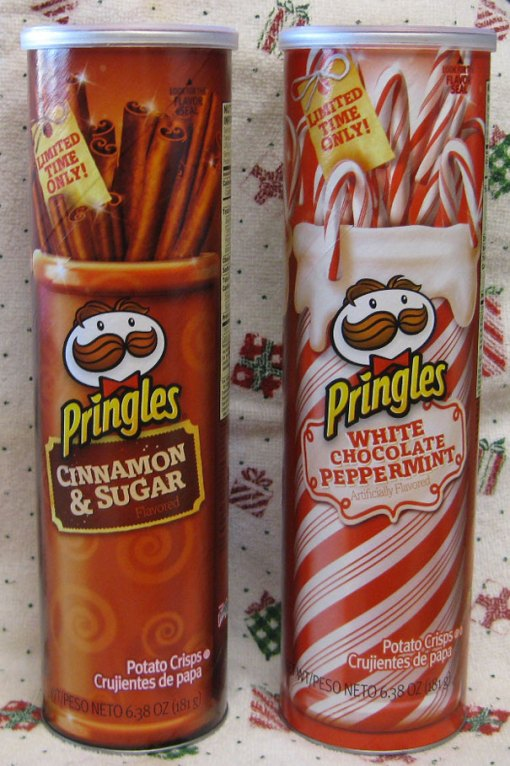 http://junkfoodbetty.com/2012/12/05/limited-time-only-pringles-cinnamon-sugar-and-white-chocolate-peppermint/
