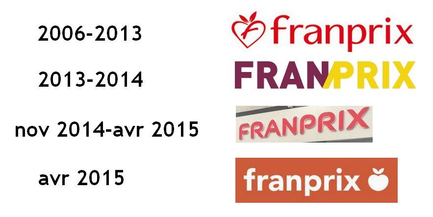Logos Franprix