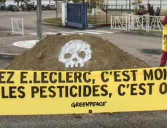 Greenpeace s'attaque férocement à Leclerc sur les pesticides