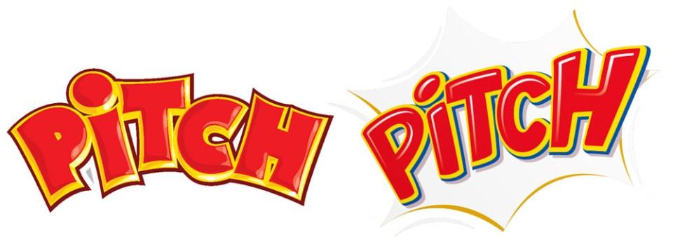 Pitch adopte un nouveau logo à partir d'octobre 2015. Plus arrondi, le graphisme adopte l'explosion du PAF en arrière plan.