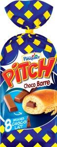 Pitch Choco barre est présent en GMS au prix conseillé de 2,35 € pour 8 sachets.