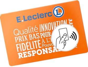 La carte de fidélité Leclerc embarque la NFC