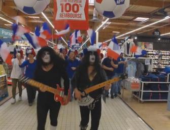 Le clip de soutien dejanté des employés de Carrefour pour l'Euro 2016