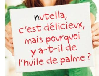 Nutella communique habilement sur l'huile de palme