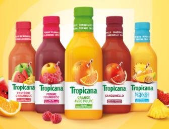 Tropicana, un nouveau souffle pour les Jus de fruit Frais