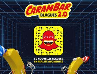 Carambar s'allie à Snapchat pour fêter les 50 ans de ses blagues