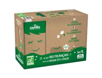 Sodiaal lance Candia bio dans un emballage plus écologique
