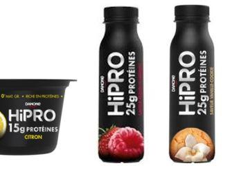 HiPRO, la nouvelle marque sportive de Danone