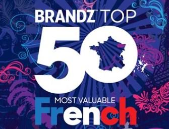 Top 50 des marques françaises les plus valorisées