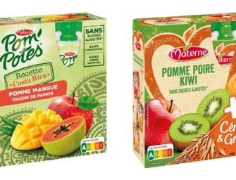 Materne & Pom'Potes, deux marques pour conquérir le snacking Adultes