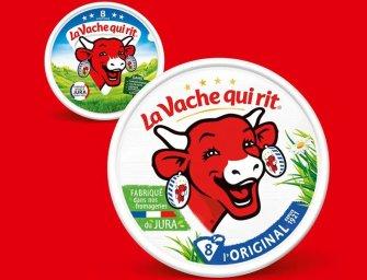 Coup de jeune pour La Vache Qui Rit !
