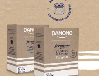 Ferments pour yaourts : Danone se met au fait-maison