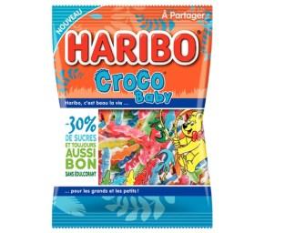 Haribo donne naissance à des baby crocos